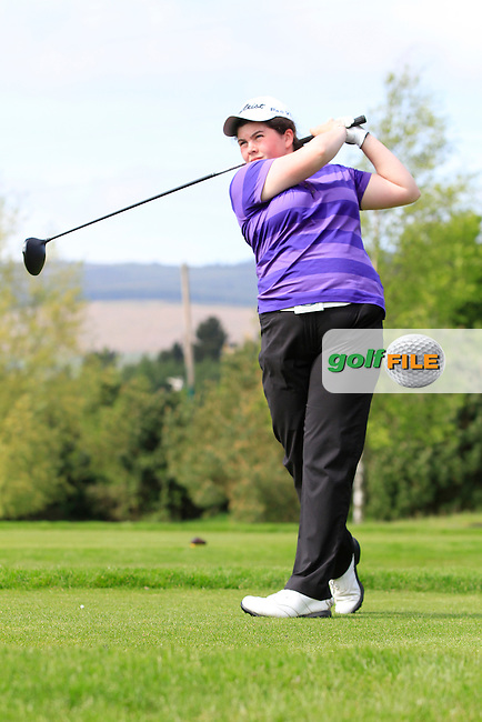 during Round 1 of the Irish Women's Open Strokeplay Championship at Dun Laoghaire Golf Club on Saturday 23rd May 2015.<br /> Picture:  Thos Caffrey / www.golffile.ie