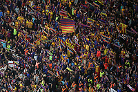 FC Barcelona's supporters during Spanish King's Cup Final match. April 21,2018. (ALTERPHOTOS/Acero)