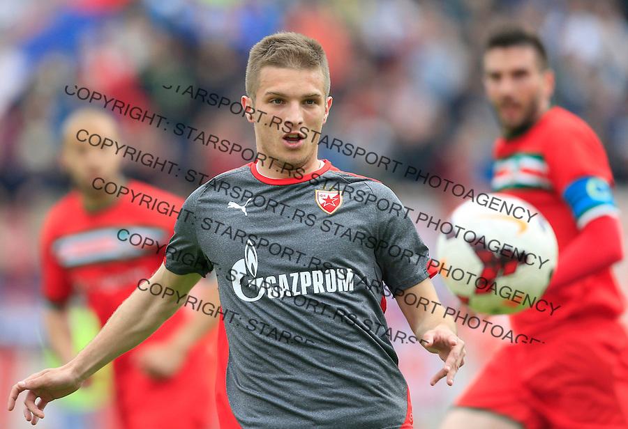 Fudbal Jelen Super League season 2014-2015 <br /> Donji Srem v Crvena Zvezda<br /> Darko Lazovic<br /> Novi Sad, 29.04.2015.<br /> foto: Srdjan Stevanovic/Starsportphoto&copy;
