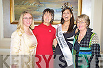 Rose of Tralee, Clare Kambamettu pictured with Ciara Irwin Foley, Grace O'Neill and Pat Tyner at the Killarney Rotary Club Afternoon Tea and Fashion show in The Malton on Saturday...