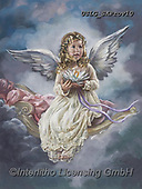 CHILDREN, KINDER, NIÑOS, paintings+++++,USLGSKPROV10,#K#, EVERYDAY ,Sandra Kock, victorian ,angels