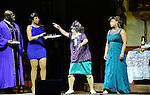 "MIAMI, FL - APRIL 30: Zebulon Ellis, Monica Blaire, Patrice Lovely and Cheryl ""Pepsii"" Riley on stage during 'Hell Hath No Fury Like A Woman Scorned' a musical play created Tyler Perry, on April 30, 2014 in Miami, Florida. (Photo by Johnny Louis/jlnphotography.com)"