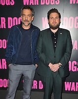 Todd Phillips &amp; Jonah Hill at the &quot;War Dogs&quot; gala film screening, Picturehouse Central, Corner of Shaftesbury Avenue &amp; Great Windmill Street, London, England, UK, on Thursday 11 August 2016.<br /> <br /> &copy;CAN/Capital Pictures / MediaPunch  ** USA and South America ONLY**