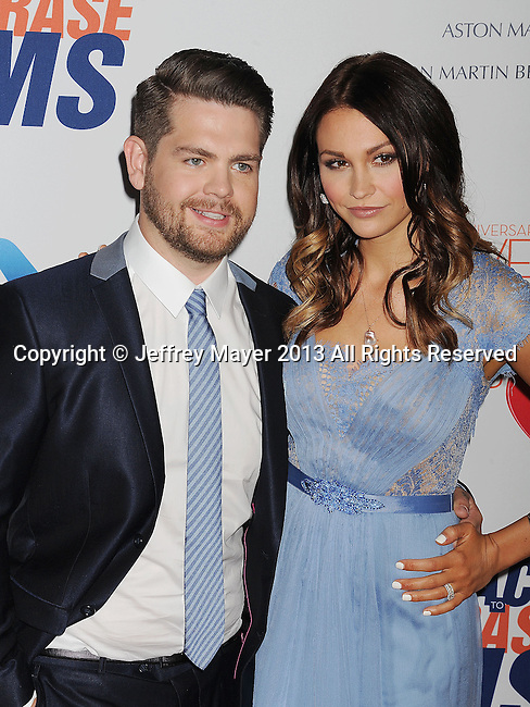 CENTURY CITY, CA- MAY 03:  TV Personality Jack Osbourne;Lisa Kelly arrive at the 20th Annual Race To Erase MS Gala 'Love To Erase MS' at the Hyatt Regency Century Plaza on May 3, 2013 in Century City, California.