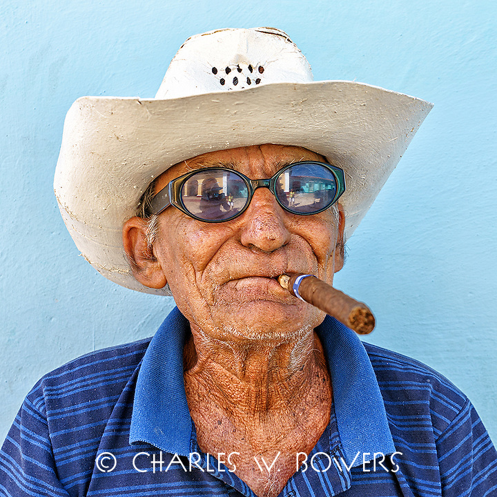 Faces Of Cuba - I celebrate my cigar.<br />