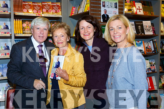 Kathleen and Eilish Cohalan with Patricia Flynn Fossa at Frances Brennan booksigning in Easons Killarney on Saturday