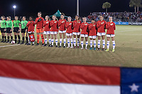 LAKEWOOD RANCH, Fla. (Dec. 7, 2018)—The U.S. Under-20 Women's National Team dropped a hard-fought 2-1 result to France in its opening match of the 2018 Women's Nike International Friendlies.
