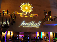 27th annual Frostiball, featuring the Platinum Orchestra, piano and voice by Michael Massey and Francie Phelps, and performance by the Fred Astaire Dance Studios, on Saturday, 2/2/13, at the Overture Center in Madison, Wisconsin