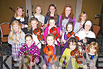 Intermediate musicians performing at the Barr Na Sraide Comhaltas Concert in The Ring of Kerry Hotel on Friday night last were front l-r; Caoimhe O'Shea, Clíodhna Guiney, Maeve Daly, Ruth O'Shea, middle l-r; Sophie Daly-Wilson, Vicky Boyle, Patricia O'Sullivan, Natalie O'Connor, Abbie Daly, back l-r; Aoife Murphy, Kate O'Sullivan, Karen Stapleton, Saidbh Brennan & Aislinn O'Shea.