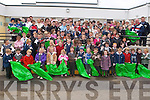 COMMUNITY PRIDE: Teachers, pupils and parents of St. Brendan's NS in Fenit got together last Friday afternoon to give  the village and school a clean as part of there effort to attain the Green Flag.    Copyright Kerry's Eye 2008