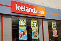 Iceland - shop sign