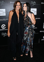 CULVER CITY, CA, USA - OCTOBER 08: Donna Karan, Demi Moore arrive at the 5th Annual PSLA Autumn Party benefiting Children's Institute, Inc. held at 3Labs on October 8, 2014 in Culver City, California, United States. (Photo by Xavier Collin/Celebrity Monitor)