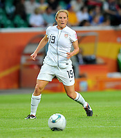 Rachel Buehler of team USA during the FIFA Women's World Cup at the FIFA Stadium in Wolfsburg, Germany on July 6thd, 2011.
