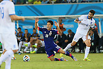 Shinji Kagawa (JPN), <br /> JUNE 19, 2014 - Football /Soccer : <br /> 2014 FIFA World Cup Brazil <br /> Group Match -Group C- <br /> between Japan 0-0 Greece <br /> at Estadio das Dunas, Natal, Brazil. <br /> (Photo by YUTAKA/AFLO SPORT)