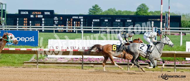 Vip winning at Delaware Park on 5/20/13 .