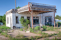 Old Route 66 business, now abandoned in Mclean Texas.
