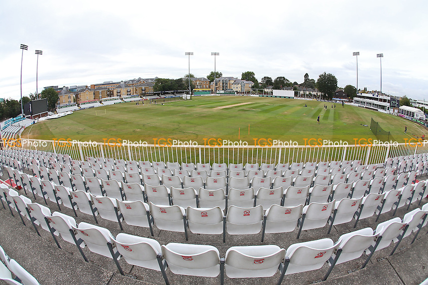 General view of the ground ahead of Essex CCC vs Worcestershire CCC, Specsavers County Championship Division 2 Cricket at the Essex County Ground on 2nd September 2016