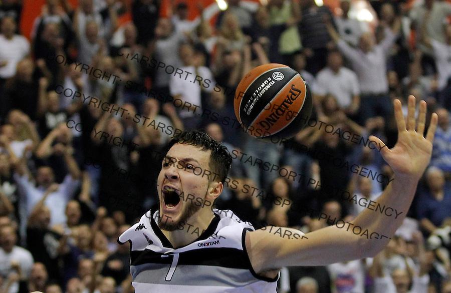 Kosarka Euroleague season 2013-2014<br /> Euroleague<br /> Partizan v Fenebahce Ulker<br /> Joffrey Lauvergne<br /> Beograd, 08.11.2013.<br /> foto: Srdjan Stevanovic/Starsportphoto &copy;