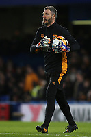 Hull City goalkeeping coach, Barry Richardson during Chelsea vs Hull City, Emirates FA Cup Football at Stamford Bridge on 16th February 2018