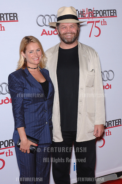Actor & former pop star MICKEY DOLENZ with daughter actress AMI DOLENZ at party at the Pacific Design Centre, West Hollywood, to mark The Hollywood Reporter's 75th Anniversary..September 13, 2005  Los Angeles, CA..© 2005 Paul Smith / Featureflash
