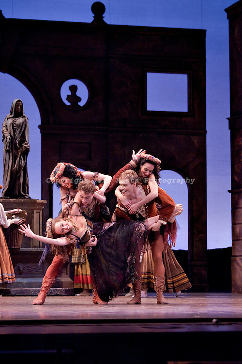 Texas Ballet Theater perform Romeo & Juliet at the Winspear Opera House on March 11, 2010.  Ben Stevenson O.B.E.