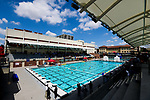 LOS ANGELES, CA - MAY 13: A general view of the Uytengsu Aquatics Center prior to the Division I Women's Water Polo Championship held on May 13, 2018 in Los Angeles, California. USC defeated Stanford 5-4. (Photo by Tim Nwachukwu/NCAA Photos via Getty Images)