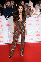 Amber Davies  at the National Television Awards 2018 at the O2 Arena, Greenwich, London, UK. <br /> 23 January  2018<br /> Picture: Steve Vas/Featureflash/SilverHub 0208 004 5359 sales@silverhubmedia.com