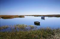 tide marsh boat, Sandwich, MA