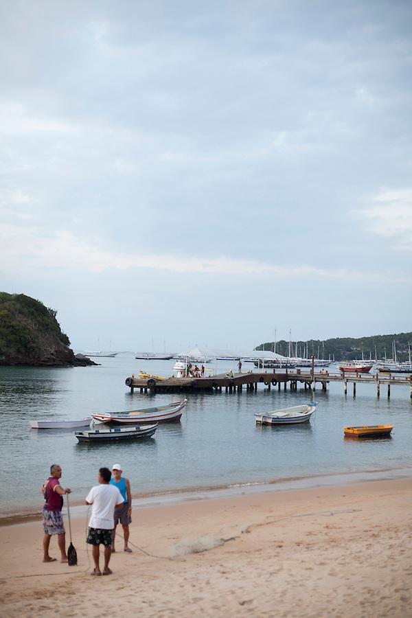 Fishermen at Buzios Bay