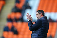 Sunderland manager Jack Ross<br /> <br /> Photographer Alex Dodd/CameraSport<br /> <br /> The EFL Sky Bet League One - Blackpool v Sunderland - Tuesday 1st January 2019 - Bloomfield Road - Blackpool<br /> <br /> World Copyright © 2019 CameraSport. All rights reserved. 43 Linden Ave. Countesthorpe. Leicester. England. LE8 5PG - Tel: +44 (0) 116 277 4147 - admin@camerasport.com - www.camerasport.com