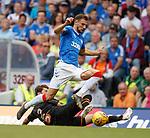14.07.2019: Rangers v Marseille: Borna Barisic and Hiroki Sakai