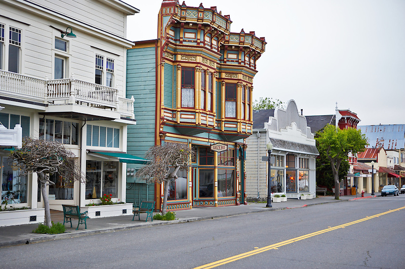 Main street in Ferndale. California