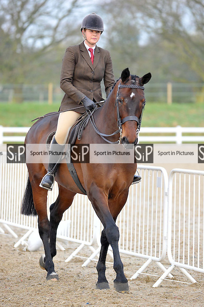 Class 1. Novice Hunter. RIHS Qualifiers.  Brook Farm Training Centre. Essex. 05/04/2015. MANDATORY Credit Ellie Ingram/Sportinpictures - NO UNAUTHORISED USE - 07837 394578
