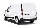 Car pictures of rear three quarter view of a 2015 Ford Transit Connect Trend 5 Door Minivan Angular Rear