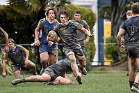 International College Rugby - St Bernard's College v Stamford Endowed Schools ( UK ) at Hutt Rec, Lower Hutt, New Zealand on Monday 12 August 2019. <br /> Photo by Masanori Udagawa. <br /> www.photowellington.photoshelter.com