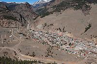 aerial Creede Colorado