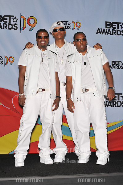 Bell Biv DeVoe at the 2009 BET Awards (Black Entertainment Television) at the Shrine Auditorium..June 28, 2009  Los Angeles, CA.Picture: Paul Smith / Featureflash