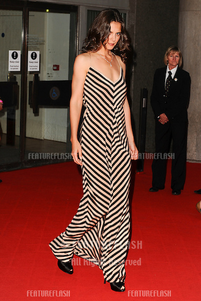 Actress, Katie Holmes.arrives for the National Movie Awards 2010 at the Royal Festival Hall, London. 26/05/2010  Picture by Steve Vas/Featureflash