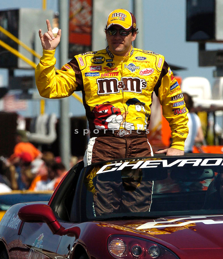 Elliott Sadler during the 2005 Daytona 500...David Durochik / SportPics