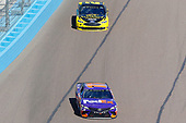 Monster Energy NASCAR Cup Series<br /> TicketGuardian 500<br /> ISM Raceway, Phoenix, AZ USA<br /> Sunday 11 March 2018<br /> Denny Hamlin, Joe Gibbs Racing, Toyota Camry FedEx Freight and Brad Keselowski, Team Penske, Ford Fusion Alliance Truck Parts<br /> World Copyright: Russell LaBounty<br /> NKP / LAT Images