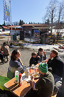 Talstation der S&ouml;llereck-Bahn bei  Oberstdorf im Allg&auml;u, Bayern, Deutschland<br /> Lower terminus of Sellereck cable car near Oberstdorf, Allg&auml;u, Bavaria, Germany