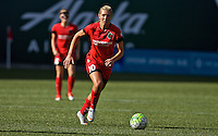 Portland, Oregon - Sunday September 4, 2016: Portland Thorns FC midfielder Allie Long (10) during a regular season National Women's Soccer League (NWSL) match at Providence Park.