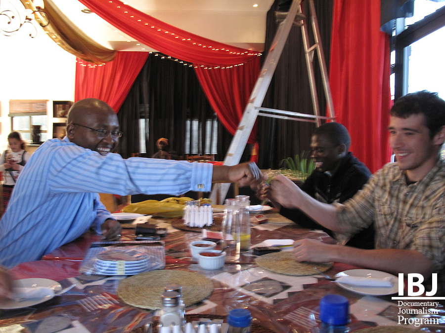 Members of the Swaziland JusticeMakers team in June/July 2009.