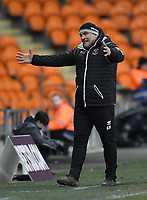 Blackpool's Gary Brabin<br /> <br /> Photographer Dave Howarth/CameraSport<br /> <br /> The EFL Sky Bet League One - Blackpool v Wycombe Wanderers - Tuesday 29th January 2019 - Bloomfield Road - Blackpool<br /> <br /> World Copyright © 2019 CameraSport. All rights reserved. 43 Linden Ave. Countesthorpe. Leicester. England. LE8 5PG - Tel: +44 (0) 116 277 4147 - admin@camerasport.com - www.camerasport.com