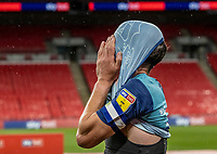 Wycombe Wanderers' Joe Jacobson <br /> <br /> Photographer Andrew Kearns/CameraSport<br /> <br /> Sky Bet League One Play Off Final - Oxford United v Wycombe Wanderers - Monday July 13th 2020 - Wembley Stadium - London<br /> <br /> World Copyright © 2020 CameraSport. All rights reserved. 43 Linden Ave. Countesthorpe. Leicester. England. LE8 5PG - Tel: +44 (0) 116 277 4147 - admin@camerasport.com - www.camerasport.com