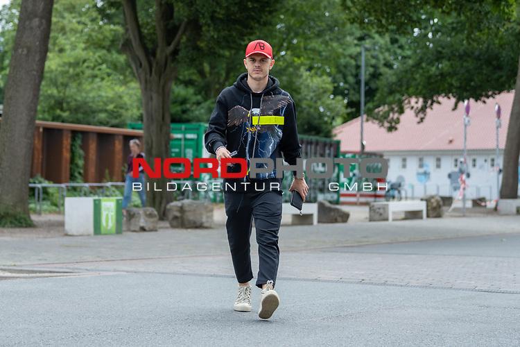 07.07.2020, Trainingsgelaende am wohninvest WESERSTADION,, Bremen, GER, 1.FBL, Werder Bremen - der Tag nach Heidenheim, im Bild<br /> <br /> <br /> <br /> Milot Rashica (Werder Bremen #07)<br /> <br /> Foto © nordphoto / Kokenge