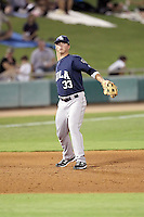 Matt Dominguez - New Orleans Zephyrs - 2011 Pacific Coast League.Photo by Bill Mitchell