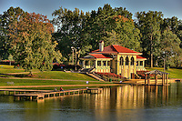 Boat House in Carondelet Park in St. Louis, MO.