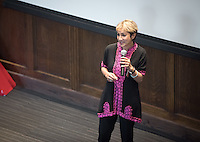 "Ani Zonneveld, founder and president of Muslims for Progressive Values (MPV), talks about ""Islam: As American As Apple Pie.""<br />