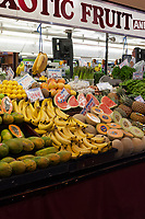 Coco's Exotic Fruit and Veg (stall 20/21) at the Adelaide Central Markets, Adelaide, Australia